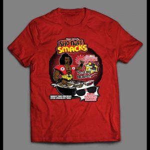 1980s THE LAST DRAGON'S SHO NUFF SMACKS CEREAL PARODY SHIRT