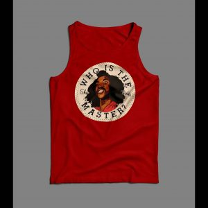 1980s THE LAST DRAGON'S WHO IS THE MASTER ALL STAR PARODY TANK TOP