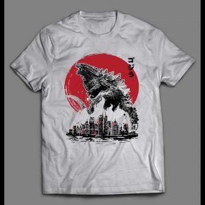 RISE OF THE KING GODZILLA KING OF THE MONSTERS SHIRT
