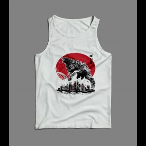 RISE OF THE KING GODZILLA KING OF THE MONSTERS MEN'S TANK TOP
