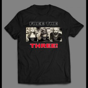 "3 FROM HELL ""FREE THE THREE"" MUG SHOTS SHIRT"