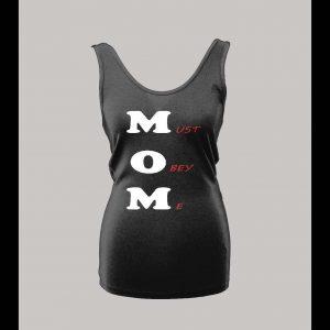 MOM OBEY LADIES TANK TOP
