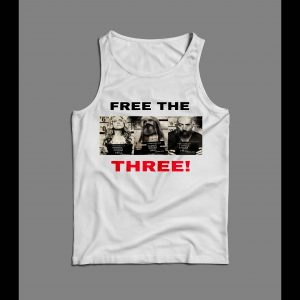 "3 FROM HELL ""FREE THE THREE"" MUG SHOTS MEN'S TANK TOP"