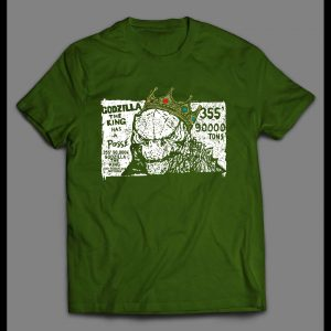 KING OF THE MONSTERS GODZILLA HAS A POSSE MOVIE SHIRT