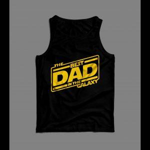 BEST DAD IN THE GALAXY MEN'S TANK TOP