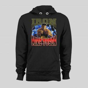 IRON MIKE TYSON BOOTLEG STYLE WINTER HOODIE / SWEATSHIRT