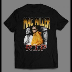RAP STYLE BOOTLEG EASY MAC MILLER HIGH QUALITY SHIRT