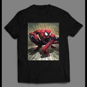 THE AMAZING SPIDERMAN COMICBOOK COVER ART SHIRT