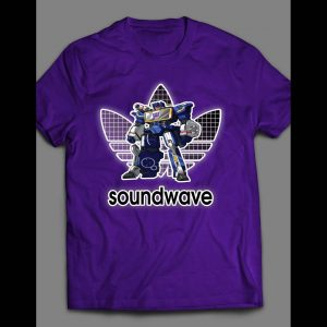 YOUTH SIZE TF ROBOTS DECEPTICON SOUNDWAVE ATHLETIC WEAR INSPIRED SHIRT