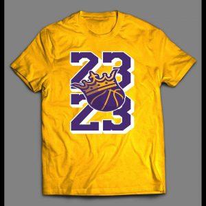 23 THE KING LEBRON HIGH QUALITY BASKETBALL SHIRT