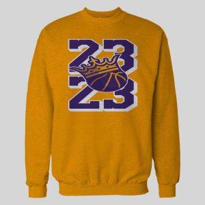 23 THE KING LEBRON HIGH QUALITY BASKETBALL HOODIE / SWEATSHIRT