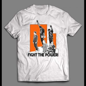 1972 OLYMPIC FIGHT THE POWER SHIRT