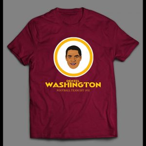 DENZEL WASHINGTON FOOTBALL TEAM PARDOY SHIRT