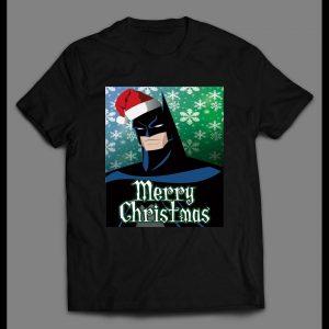 "BATMAN ""MERRY CHRISTMAS"" HIGH QUALITY CHRISTMAS SHIRT"