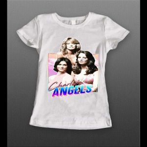 CHARLIE'S ANGELS LADIES HIGH QUALITY LADIES HIGH QUALITY SHIRT