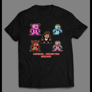 8-BIT VIDEO GAME STYLE CEREAL MONSTER SQUAD SHIRT
