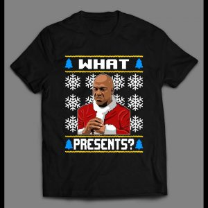 DEEBO WHAT PRESENTS? CHRISTMAS PATTERN HIGH QUALITY HOLIDAY SHIRT