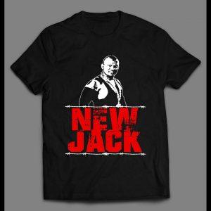 HARDCORE NEW JACK RETRO STYLE WRESTLING SHIRT