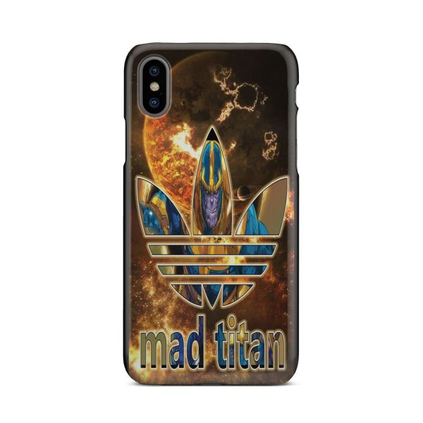 THANOS THE MAD TITAN CUSTOM PRINTED PHONE CASE FOR IPHONES AND SAMSUNG GALAXY